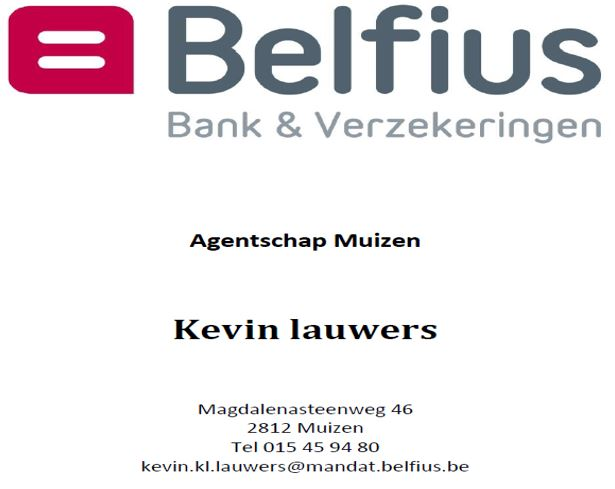Belfius Bank NV- Agentschap Muizen